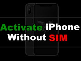 Activate iPhone Without SIM