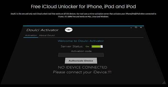 doulce icloud unlock tool