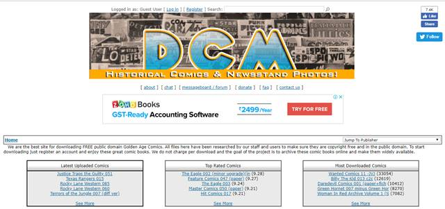 digital comics museum