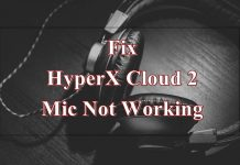 hyperx cloud 2 mic not working