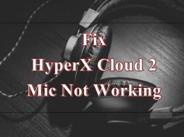 hyperx cloud 2 mic not working
