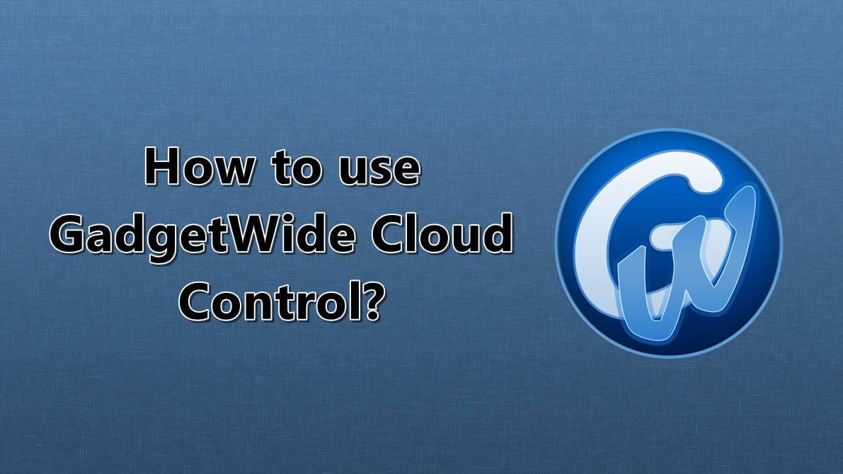 How to Use GadgetWide Cloud Control iCloud Activation Tool