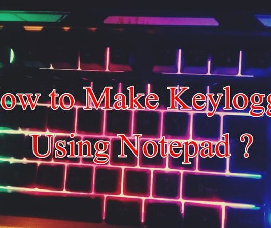 keylogger using notepad