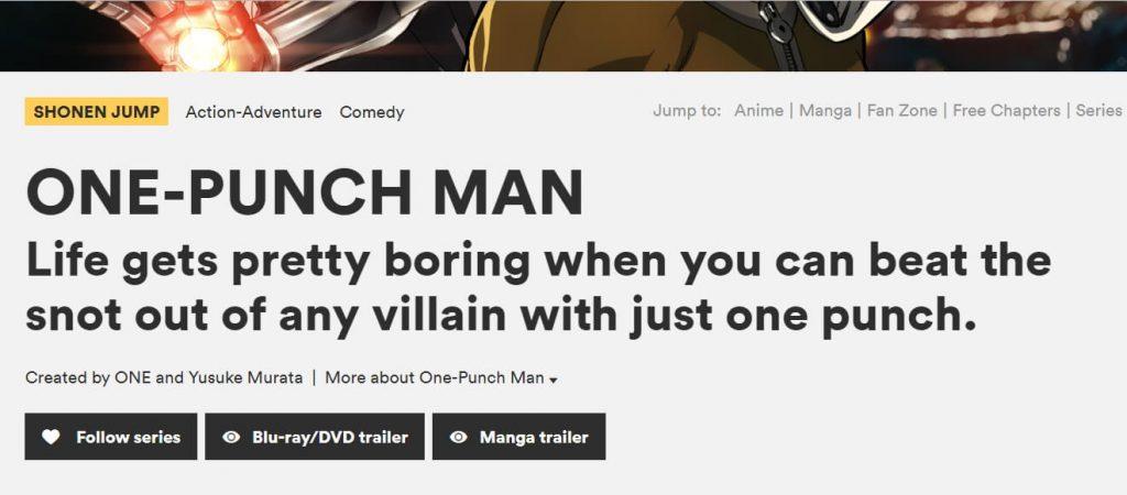 viz one punch man