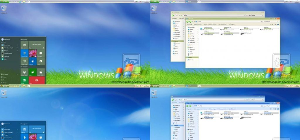 windows xp theme for windows 10
