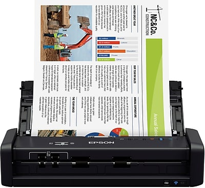 epson workspace es-300w document scanner