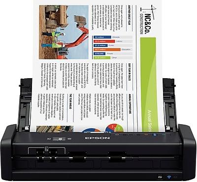 epson workspace es-300w document scanner