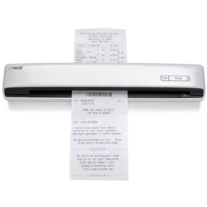 neatreceipts mobile scanner