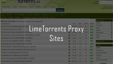LimeTorrents Proxy 2019 – 100% Working Mirror Sites