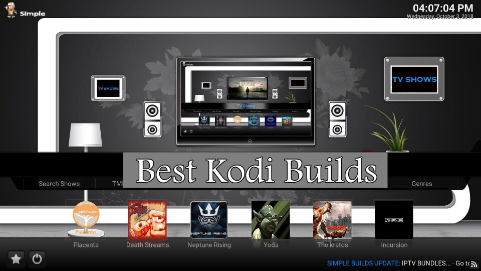 best kodi builds 2019
