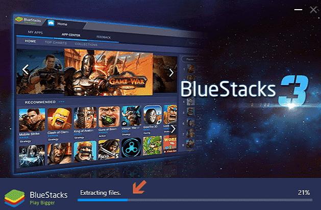 bluestacks app player install