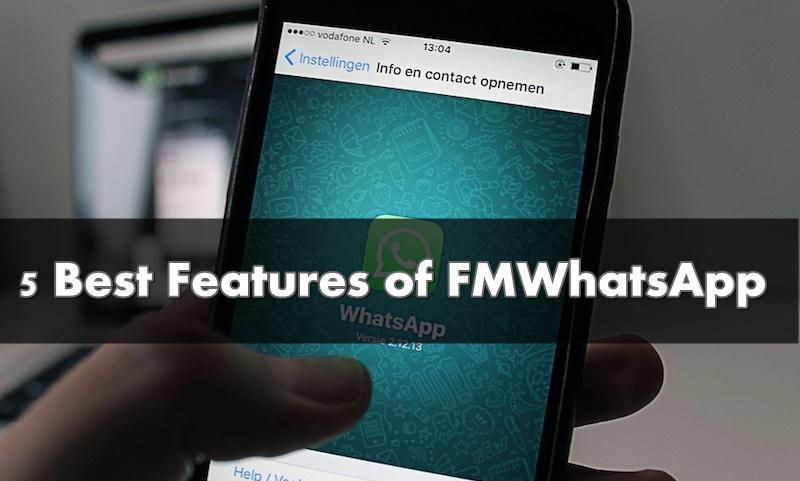 features of fmwhatsapp 2019
