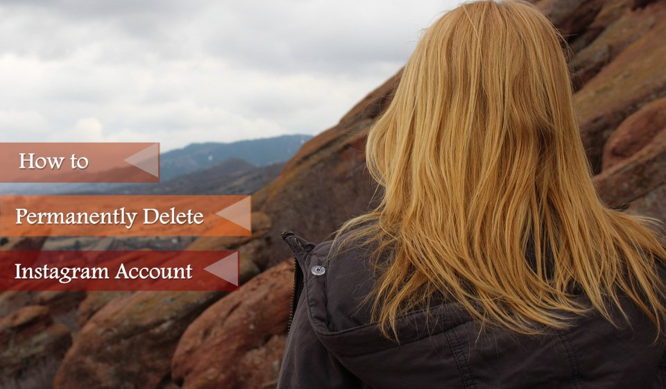 delete instagram account 2020