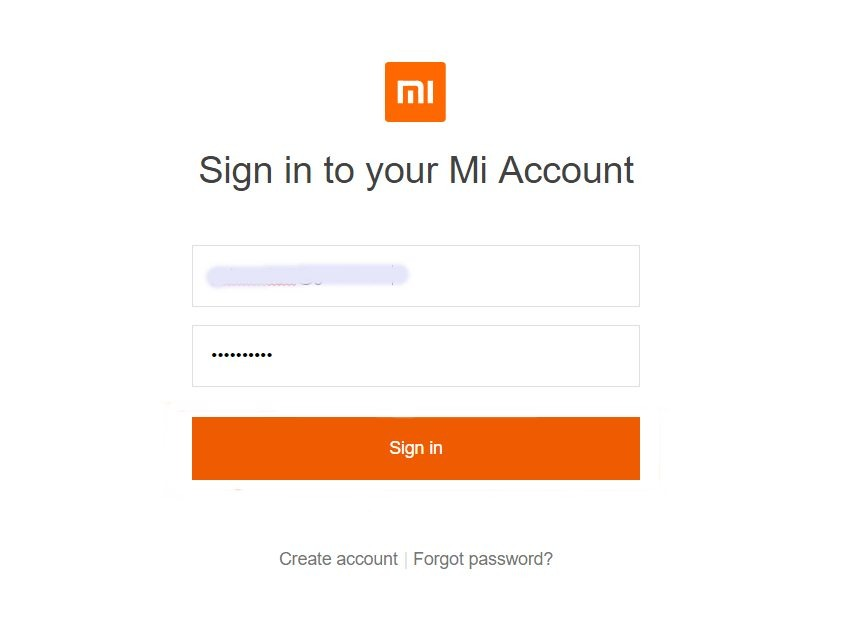 remove your mi account