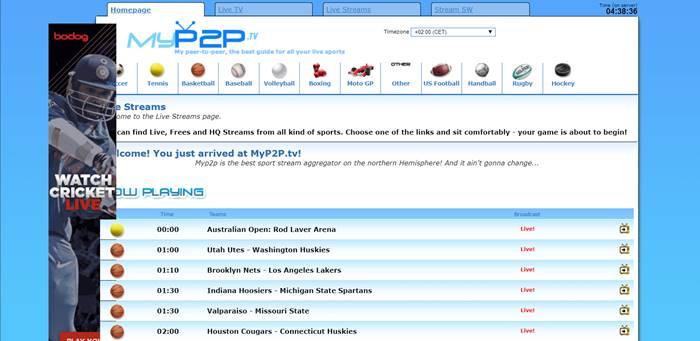 myp2p tv