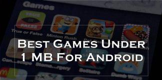 best games under 1 mb