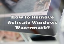 remove activate windows watermark