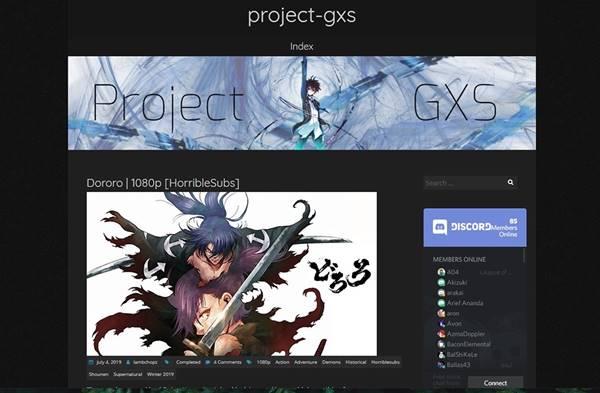 project gxs