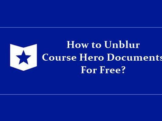 unblur course hero documents