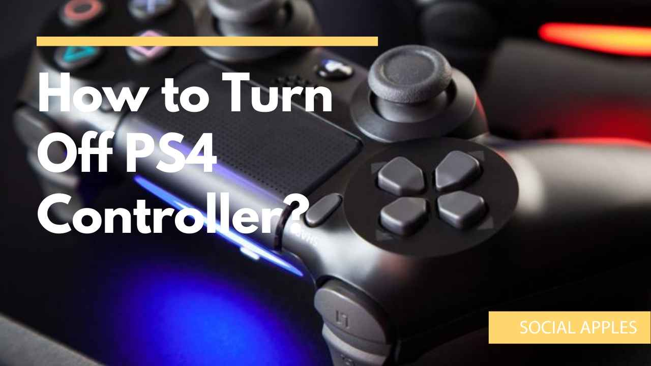 How to Turn Off PS4 Controller