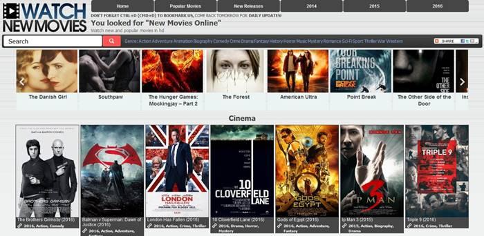 watch new movies