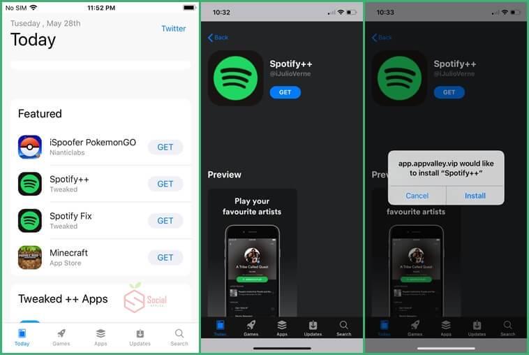 spotify++ ios app free
