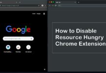 How to Disable Resource Hungry Chrome Extensions