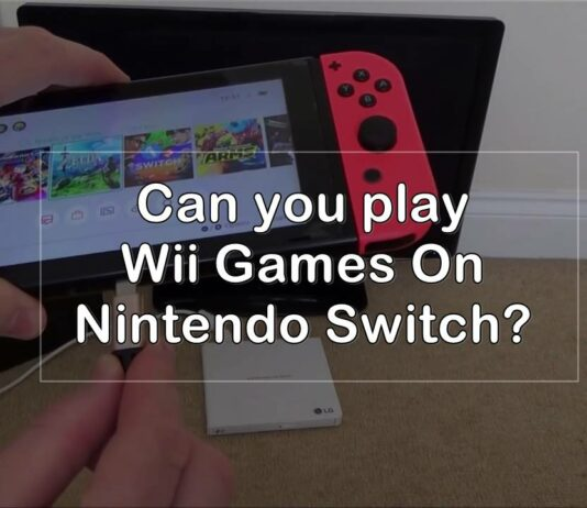can you play wii games on nintendo switch