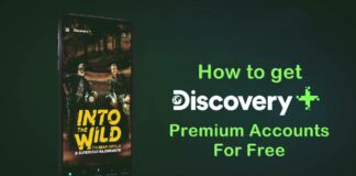 how to get dicovery plus premium accounts for free