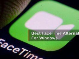 facetime alternatives for windows