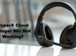 hyperx cloud stinger mic not working