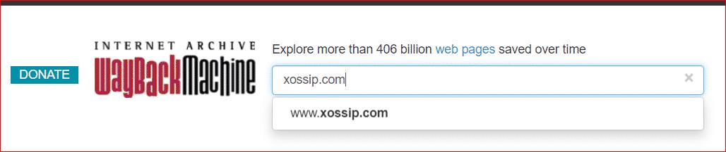 xossip wayback