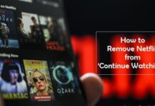 How to Remove Netflix from Continue Watching