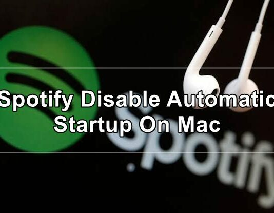 spotify disable automatic startup on mac