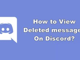 How to View Deleted messages On Discord