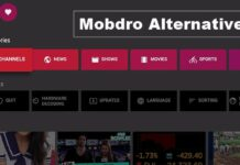 best apps like mobdro alternatives