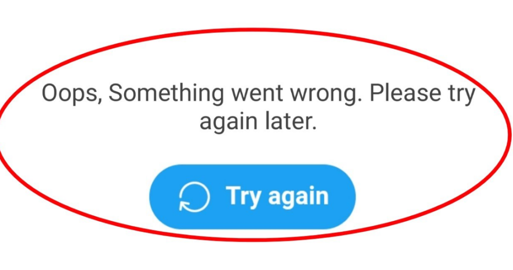 Fix Twitter Something Went Wrong, Try Again Error