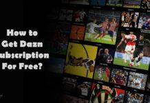 get dazn subscription for free