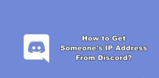 how to get someones ip address from discord