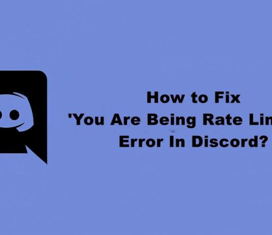 fix you are being rate limited error in discord