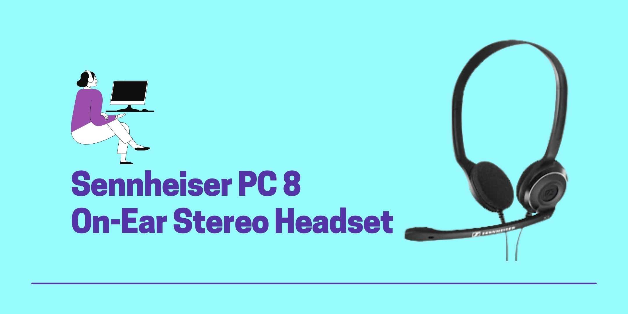 Sennheiser PC 8 On-Ear Stereo Headset